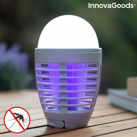 Lâmpada antimosquitos recarregável com LED 2 em 1 Kl Bulb InnovaGoods