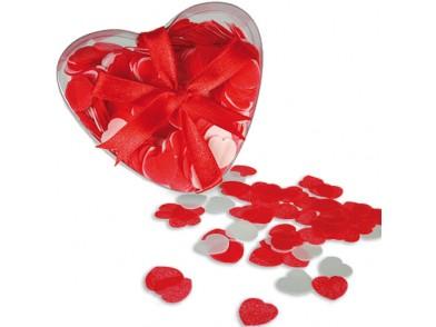 Confetes de Banho Corações Grandes