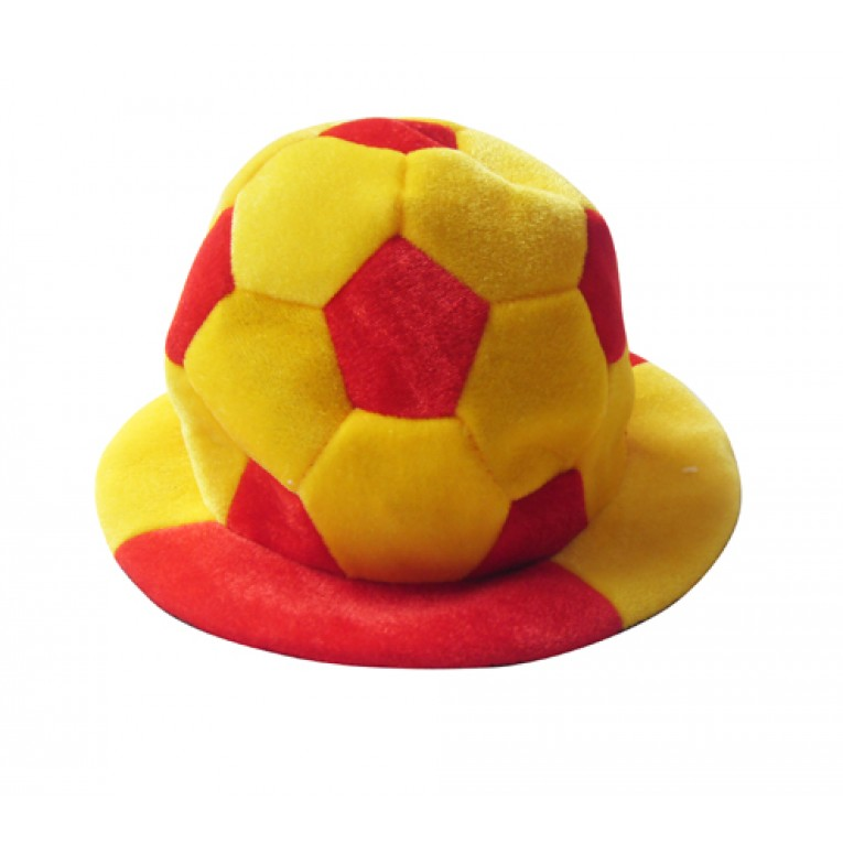 Chapéu Bola de Futebol Bandeira de Espanha