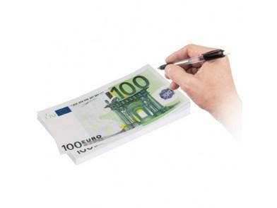 Bloco de Notas 100 Euros (Tamanho Grande)