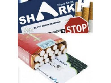 Cartão Blove Shark para a redução dos efeitos colaterais do tabagismo