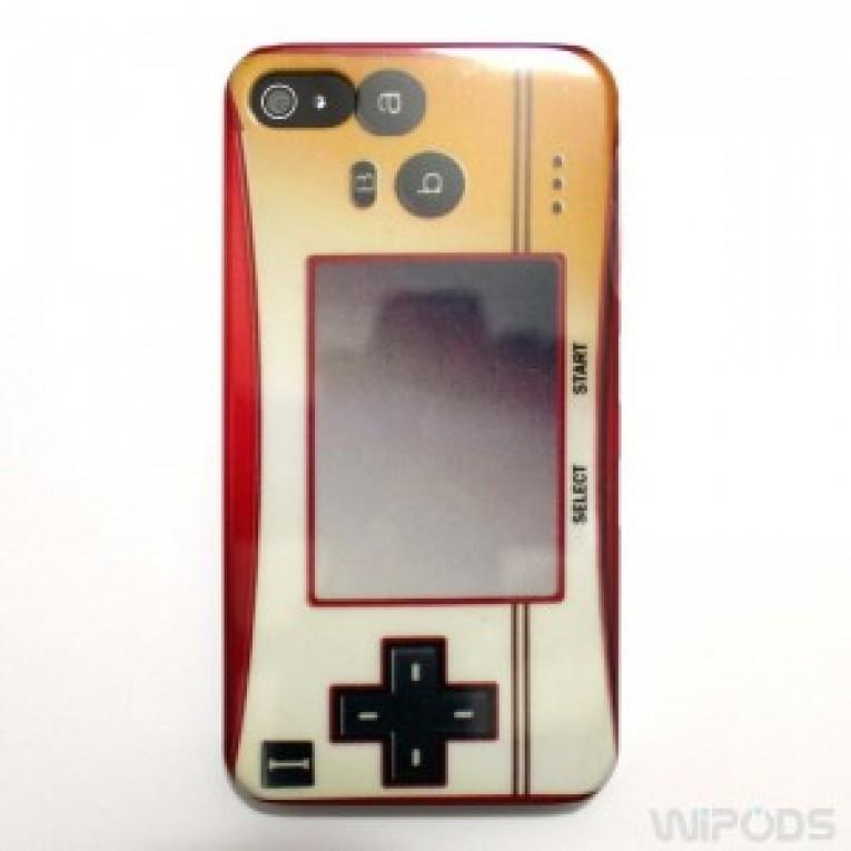 Caixa Retro de Jogos em Silicone para iPhone