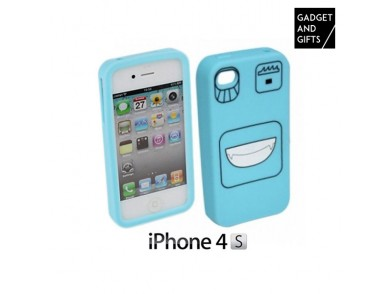 Capa de Silicone para iPhone com Caretas