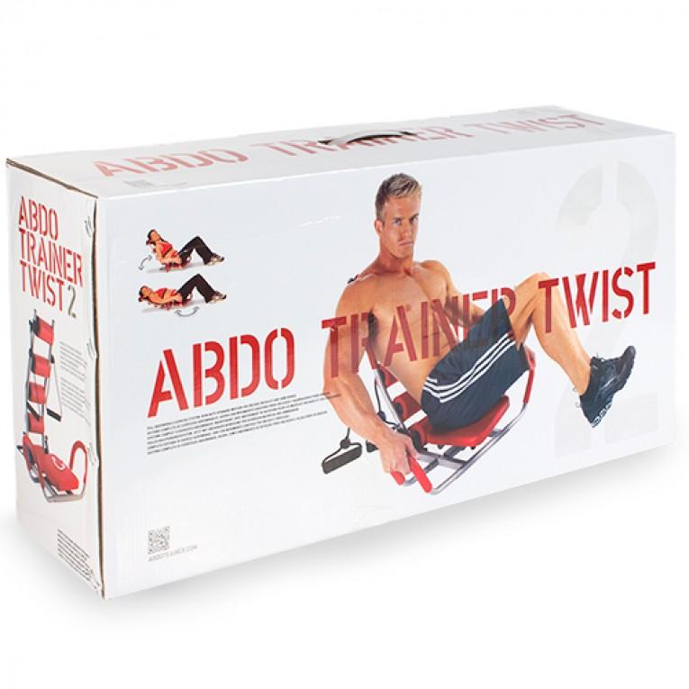 Banco de Abdominais com Expansores de Peito ABDO Trainer Twist