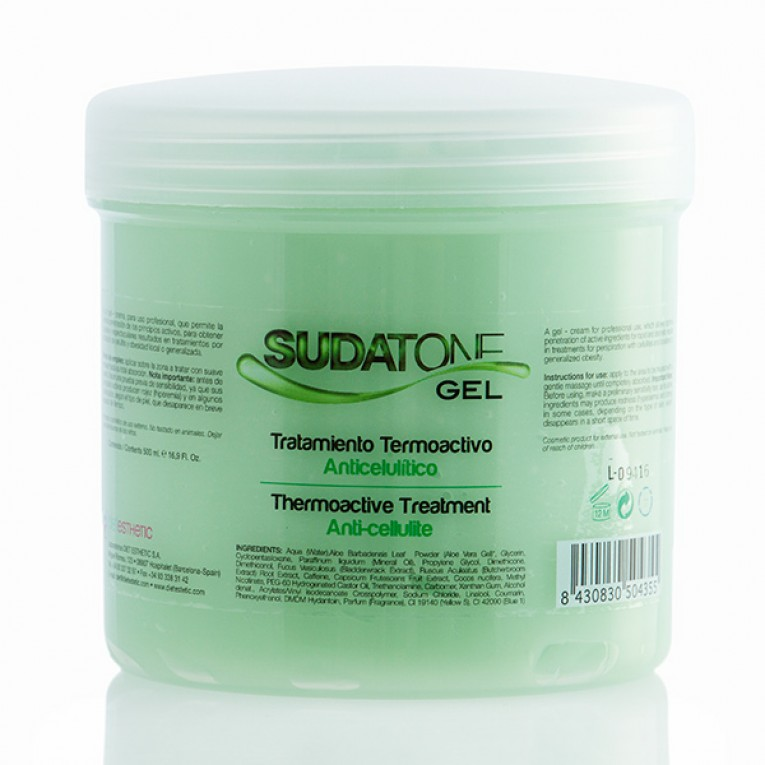Gel Anticelulítico Termoactivo Sudatone 500ml