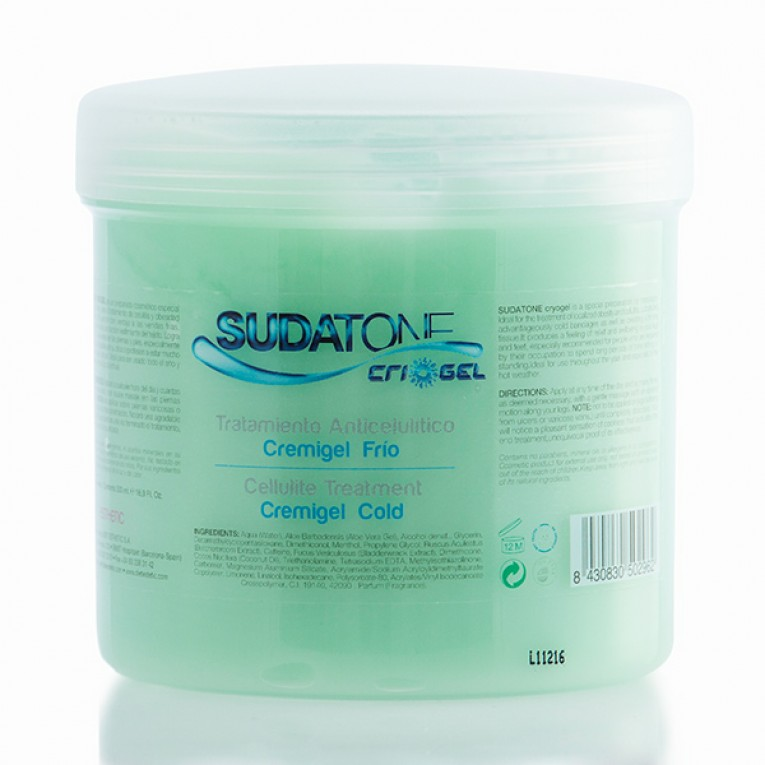Gel Anticelulítico Sudatone Cryogel Cold 500ml
