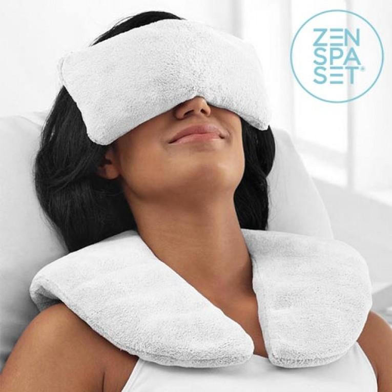 Conjunto Zen Spa (Almofada + Almofadinhas de relaxamento ) | Frio e Calor