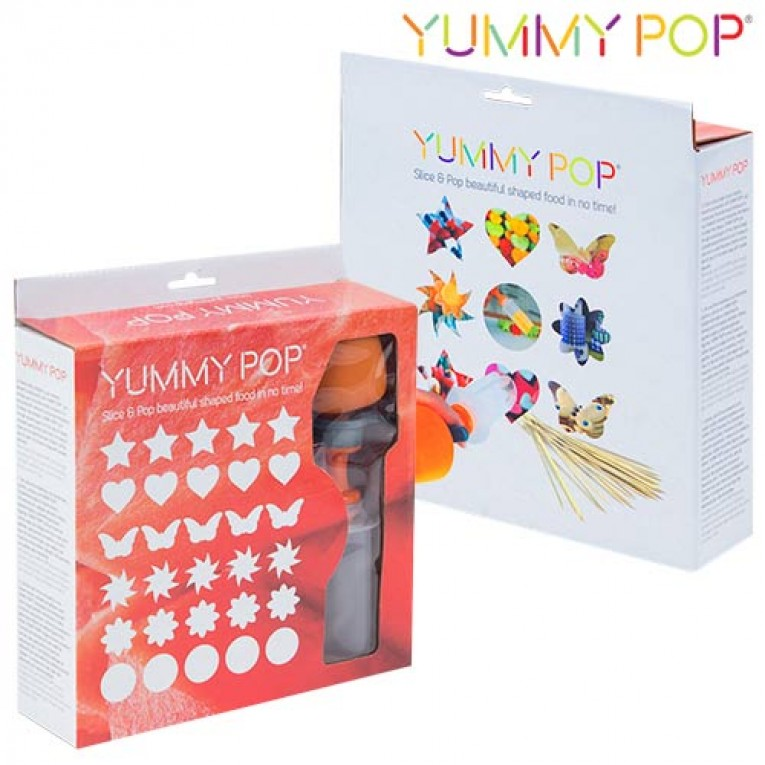 Descaroçador para Decorar Sobremesas Yummy Pop