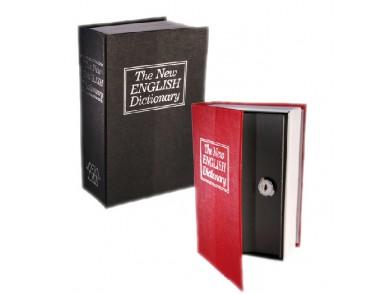 Caixa de Segurança em Forma de Dicionário