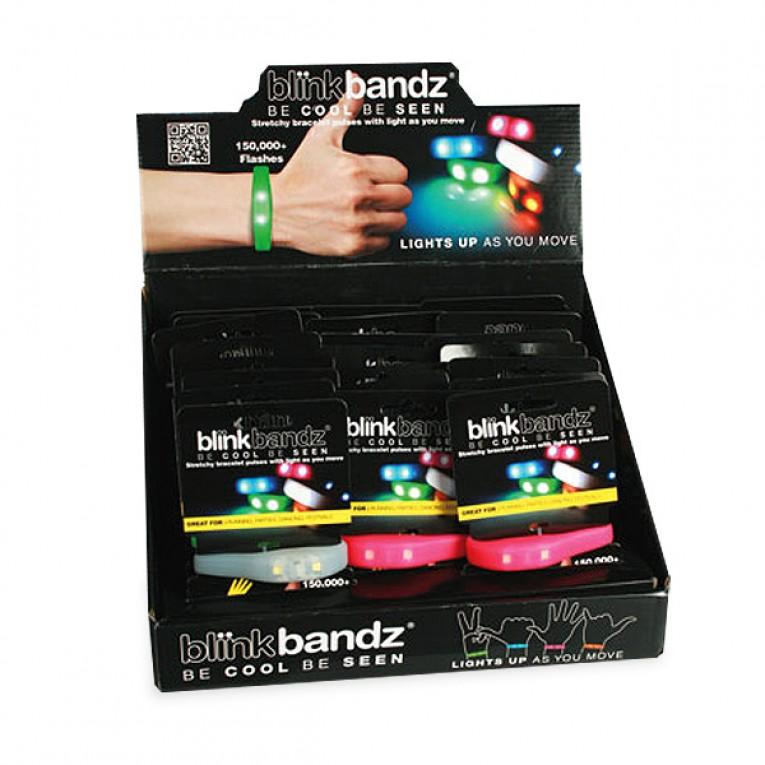 Pulseira de silicone Blink Bandz