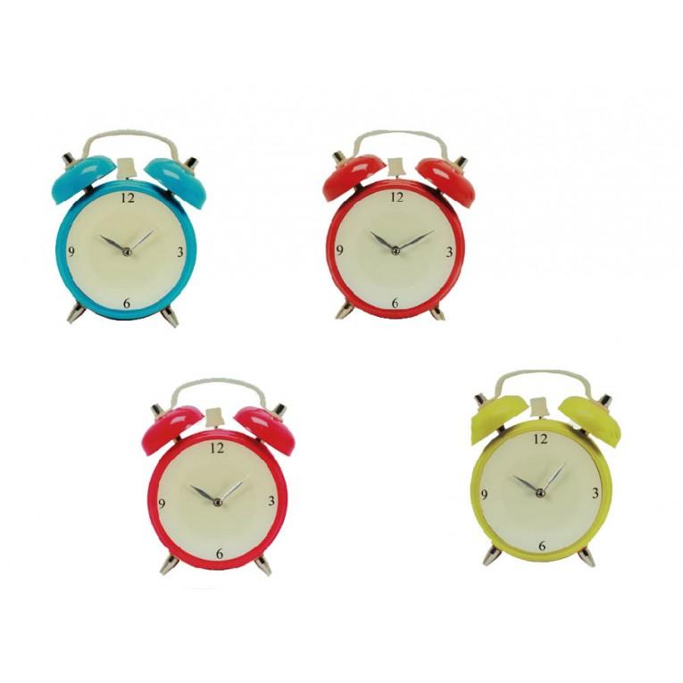 Relógio de Parede em Forma de Despertador