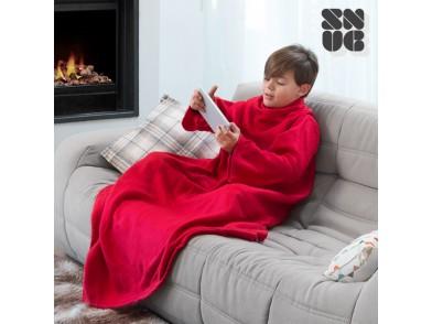 Cobertor Snug Snug com mangas para crianças