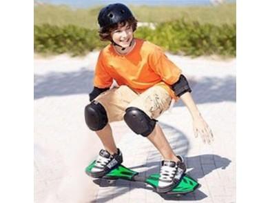 Skate Boost em forma de Prancha de Surf (2 rodas)