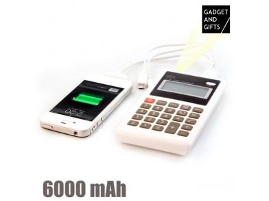 Calculadora Power Bank 6000 mAh