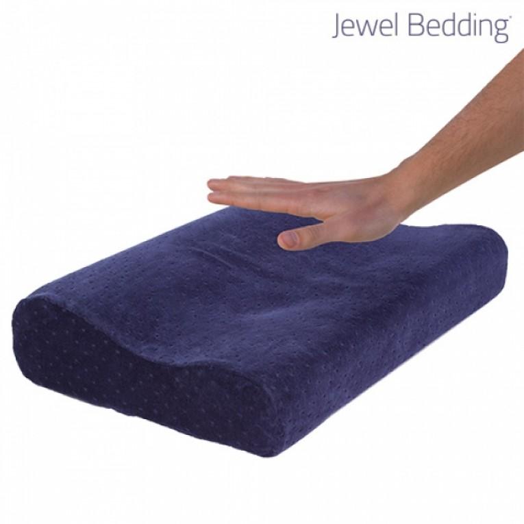 Almofada Viscoelástica Jewel Bedding com Fronha