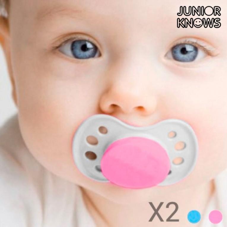 Chupetas de Bebé (embalagem de 2)