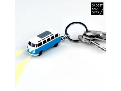 Porta-chaves em forma de Carrinha VW com Luzes LED