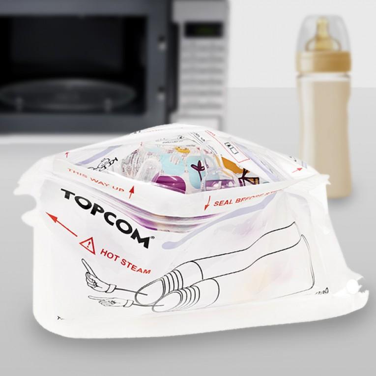 Esterilizador de Biberões de ir ao Microondas TopCom