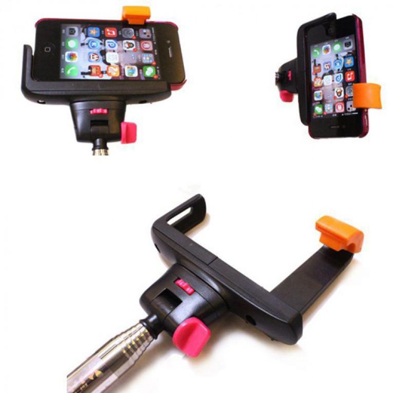 Bastão para Selfies com Bluetooth para Telemóveis