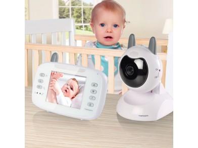Monitor de Bebé com Vídeo TopCom KS4246