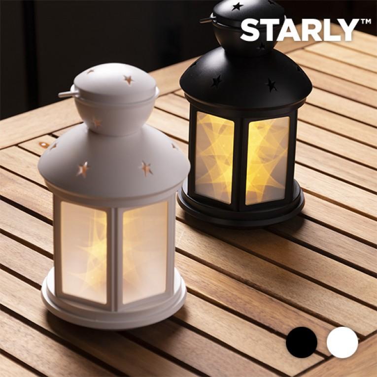 Lanterna LED com Estrelas