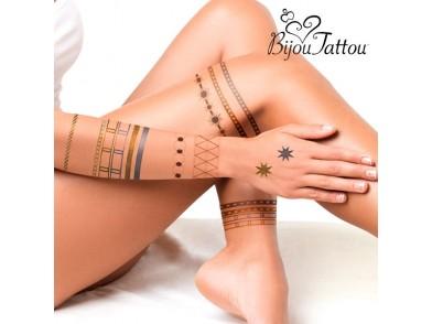 Tatuagens Temporárias Bijou Tattou