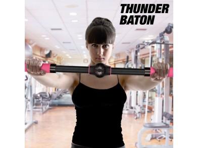 Barra de Exercícios Realçadores Thunder Baton