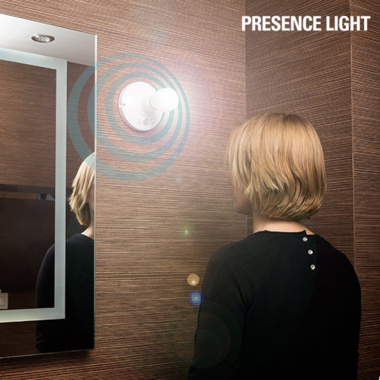 Casquilho com Sensor de Movimento Presence Light