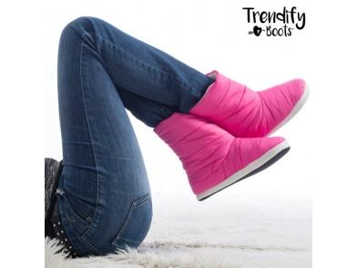 Pantufas tipo Bota Trendify Boots