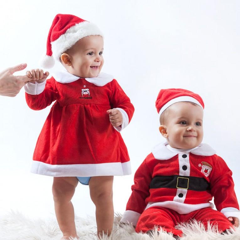 Disfarce de Pai Natal Infantil