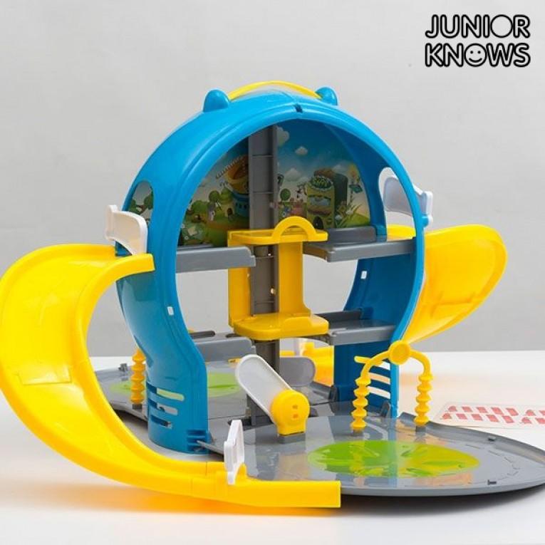 Parque de Estacionamento Infantil com Mala