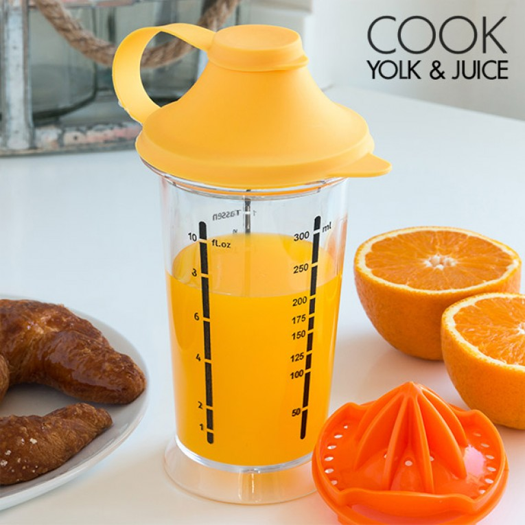 Copo de Mistura com Espremedor Cook Yolk & Juice