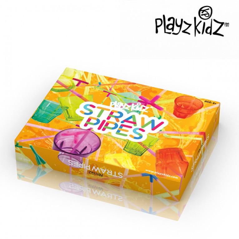 Jogo de Palhinhas para Beber Playz Kidz (194 peças)