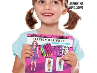 Caderno de Moda Infantil