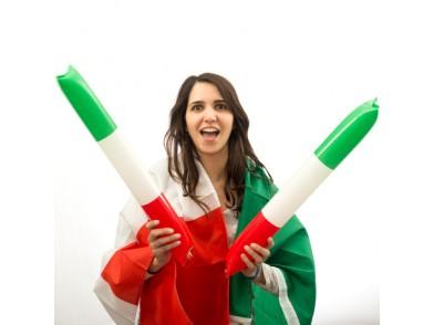 Bastões Bandeira da Itália
