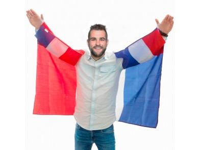 Capa Bandeira de França