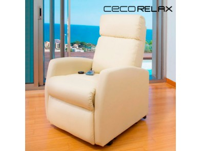 Poltrona de Repouso com Massagem Cecotec Compact 6024