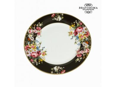Plat bord Porcelana (Ø 27 cm) - Kitchen's Deco Coleção by Bravissima Kitchen