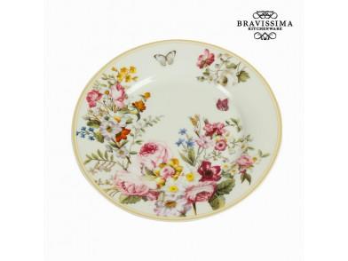 Plat bord Porcelana (Ø 19 cm) - Kitchen's Deco Coleção by Bravissima Kitchen