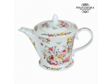 Theepot Porcelana 1 L - Kitchen's Deco Coleção by Bravissima Kitchen