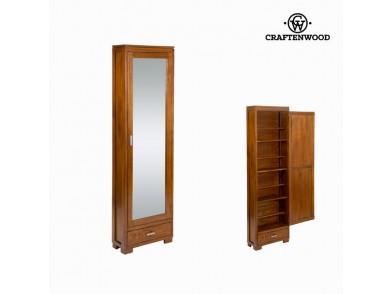 Sapateira (170 x 50 x 20 cm) Madeira de cedro - Serious Line Coleção