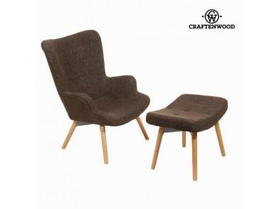 Cadeira com descanso para os pés by Craftenwood