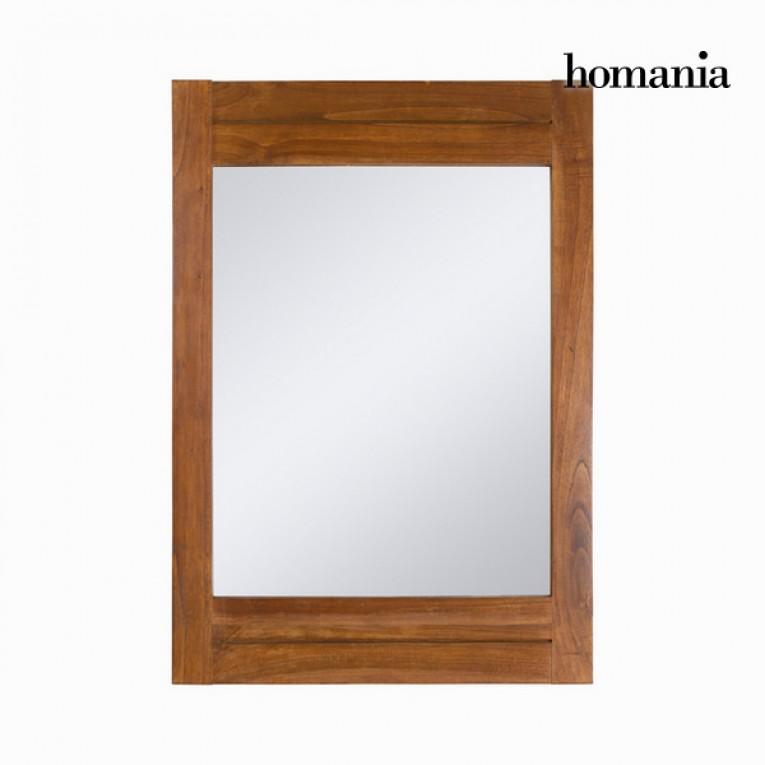 Espelho (100 x 70 cm) Madeira de cedro - Be Yourself Coleção