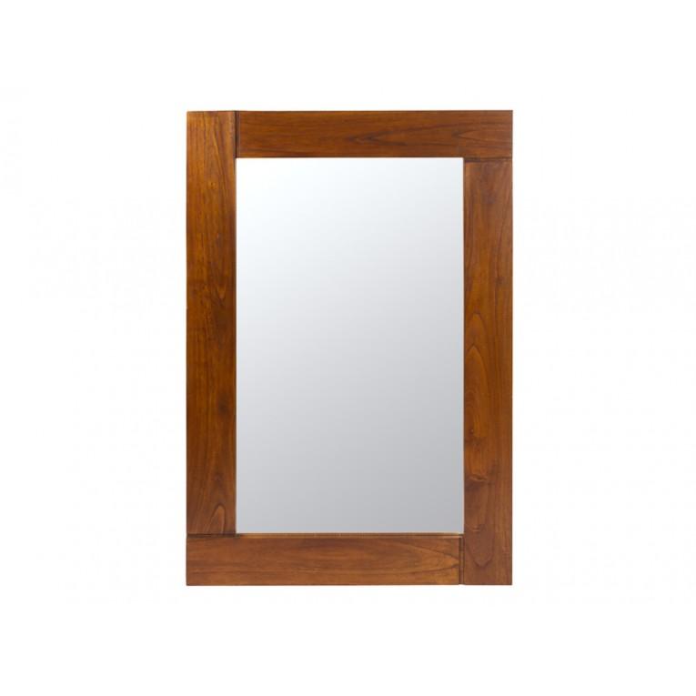 Nogueira nature espelho de parede - Nogal Coleção by Homania