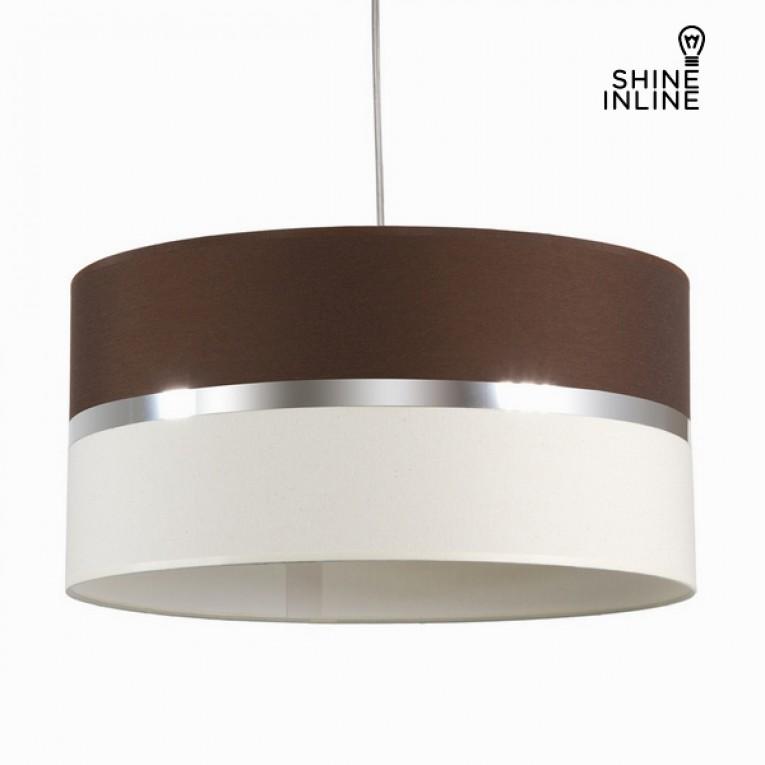 Luminária para tecto wenge e tela by Shine Inline