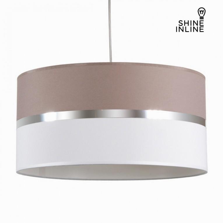 Luminária branca com madeira de freixo para tecto  by Shine Inline