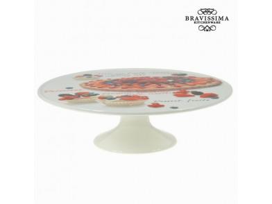 Travessa Porcelana (33 x 33 x 11 cm) - Kitchen's Deco Coleção by Bravissima Kitchen