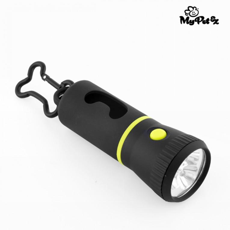 Lanterna com Porta-Sacos para Excrementos MyPet Poop Lantern