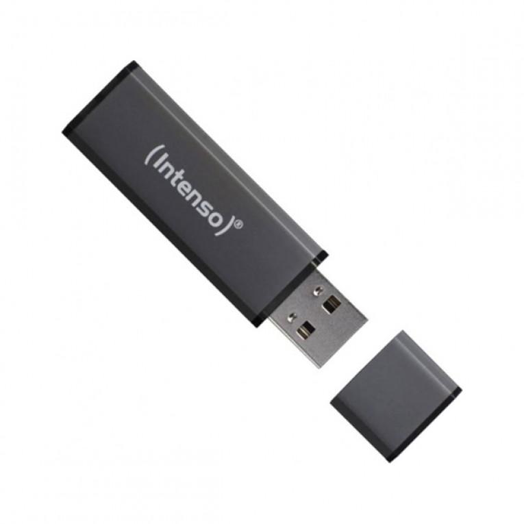 Memória USB INTENSO 3521471 16 GB Antracite
