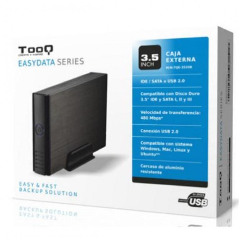 Caixa externa TooQ TQE-3520B HD 3.5
